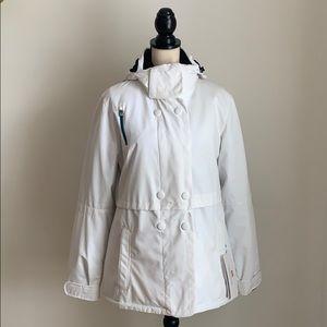 NWT! Obermeyer Brigitte Jacket White Size 12